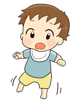 Baby (boy) Start walking