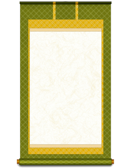 Hanging scroll 1