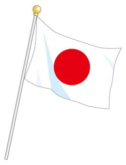 Japanese flag (Hinomaru)