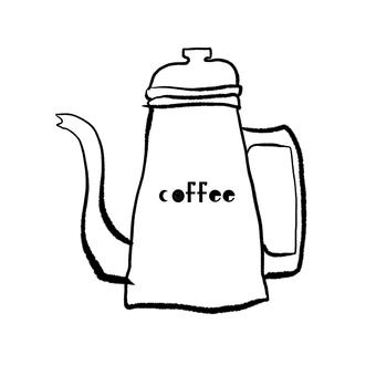 커피 드립 포트