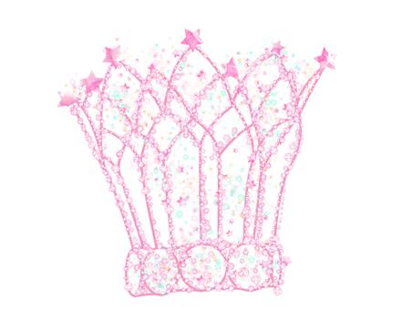 Star's tiara pink