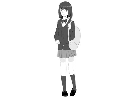 Girls' High School Student (Bag)