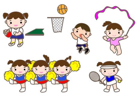Sports fall