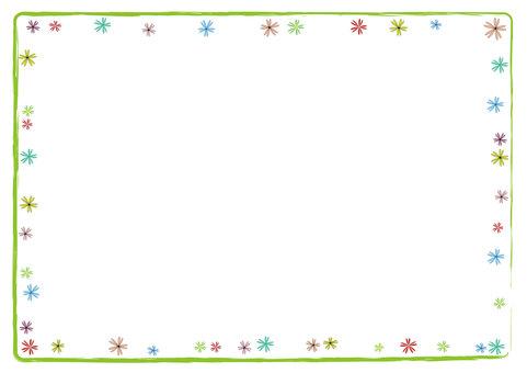 Flower frame 3