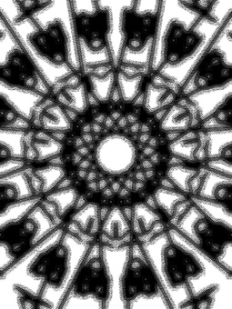Strange Pattern Background Pattern Material Black