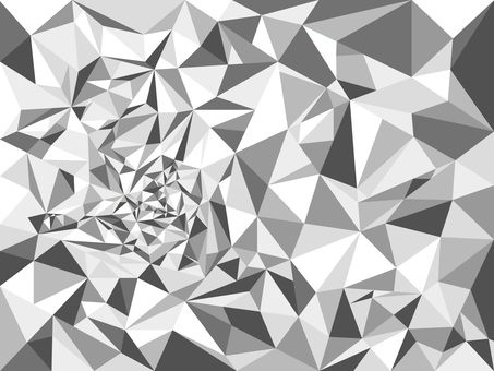 Polygon background material Black and white