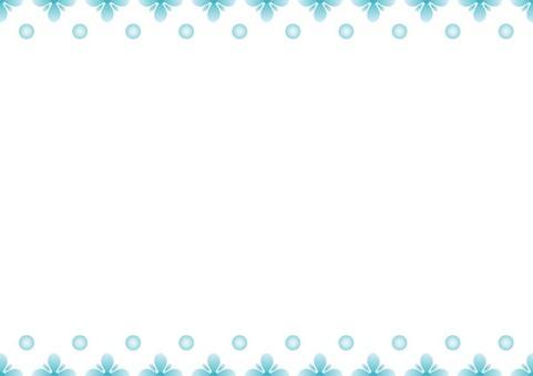 Blue Frame · Flower 1
