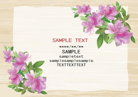 Azalea card
