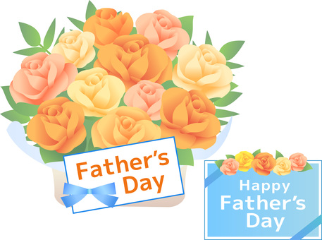 70422. Father's Day, Flower basket 3