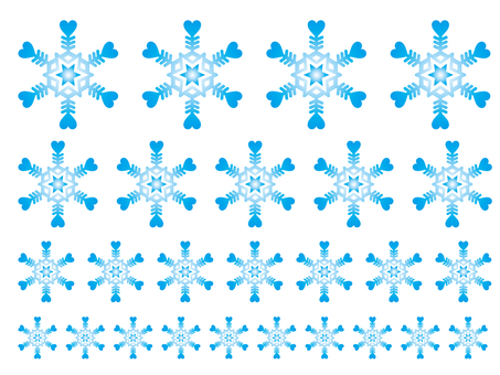 Snow Crystal greeting card