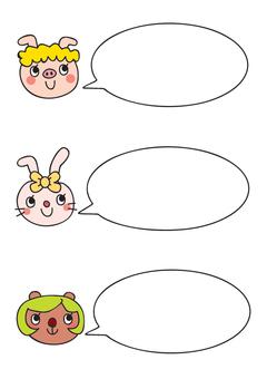 Animal speech