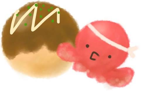 Octopus and Takoyaki