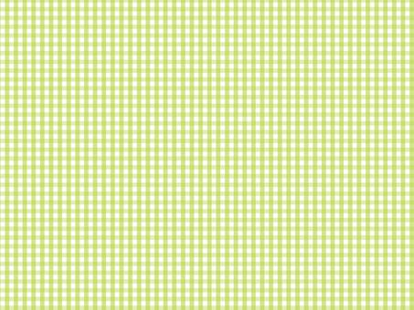 【귀여운 배경] 상쾌한 초원 체크
