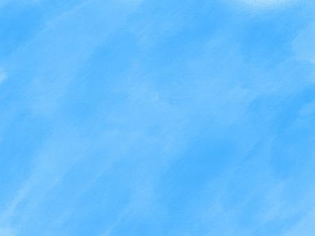 수채화 하늘색
