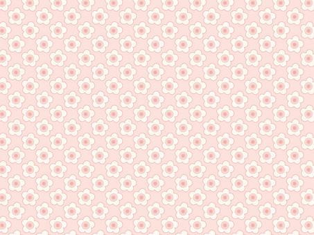 背景壁紙パターンピンク色模様春桜花可愛い