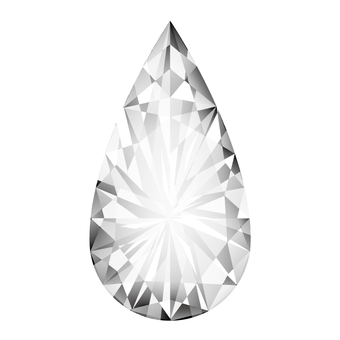 Kirarin Diamond (Drop Shape)