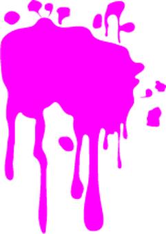 Liquid splash, paint splash