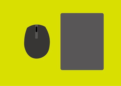 Mouse and mouse pad