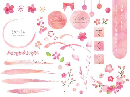 벚꽃 세트 ver05