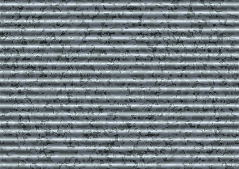 Tin plate corrugated texture wallpaper