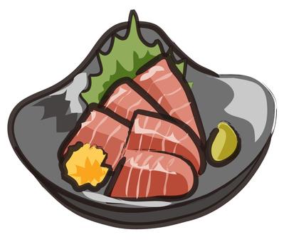金槍魚生魚片