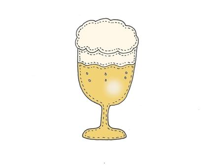 Beer glass beer