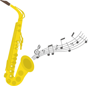 Saxophone and notation