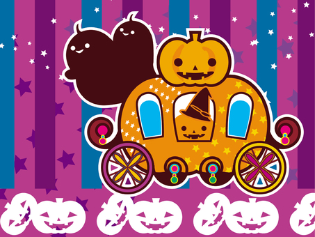 HALLOWEEN Pumpkin carriage 2