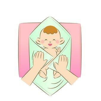 Baby's bathing 8