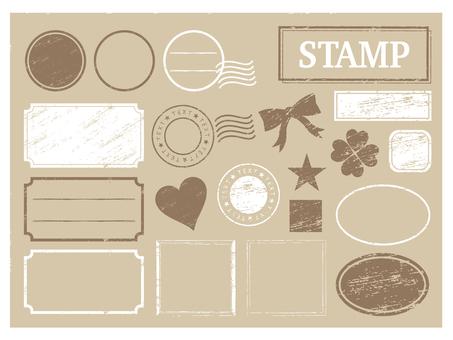 Stamp tea frame 2