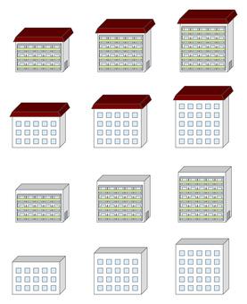 城市系列住房群