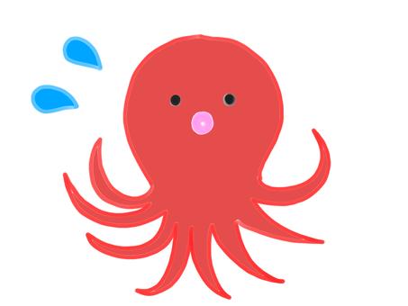 Sweat octopus