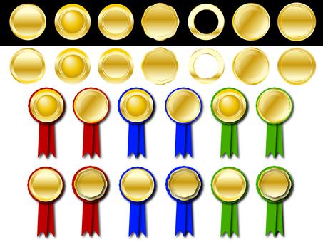 Gold Medal · Medal · Metal Seal Set