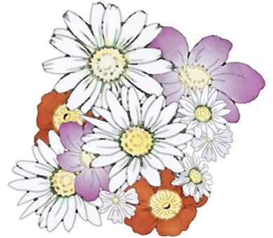 Bouquet - watercolor
