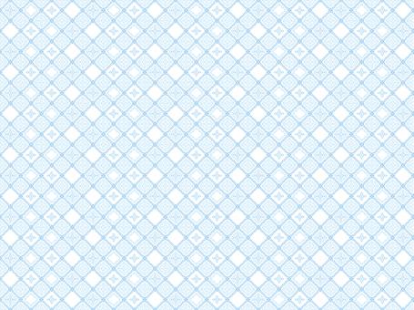 대각선 격자 무늬 (일본식, 하늘색)