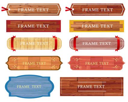 Material of wood