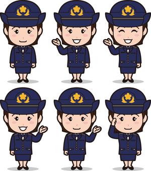 Mini Mini自衛軍官6(GSS·新制服)