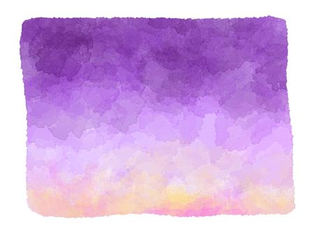 Watercolor purple