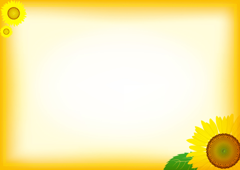 Summer image Sunflower 4