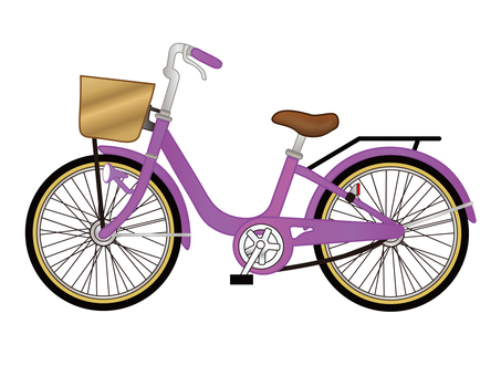 Bicycle _ purple