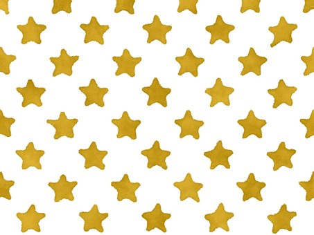 Watercolor-style golden star