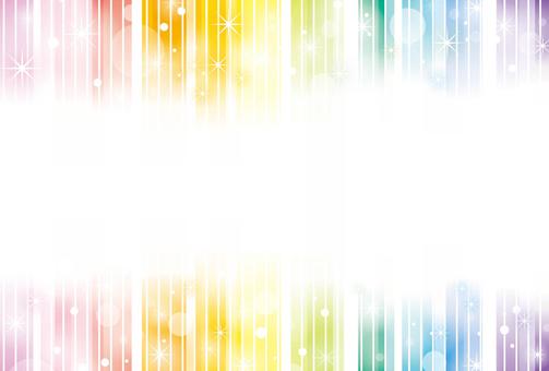 Rainbow-colored frame 01