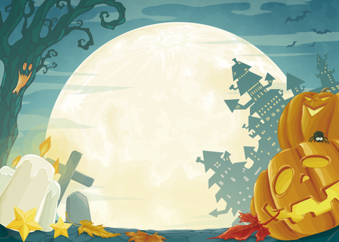 Halloween background vector