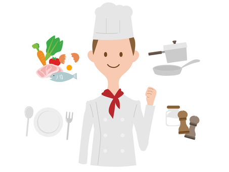Cook's men