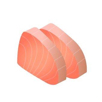 Seafood - salmon sashimi
