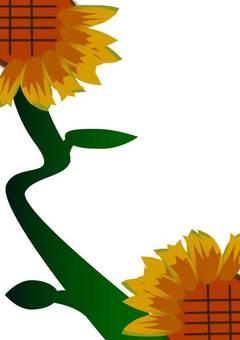 Squirrel sunflower 4 A4