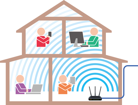 Home wifi Wifi illustration