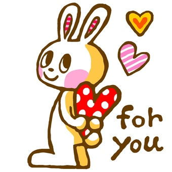 for you rabbit