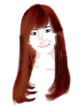 Long-haired women 04