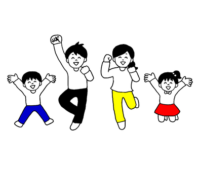 Jumping family (simple)